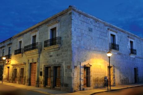 Outside the Museo Textil de Oaxaca. Photos courtesy the Museo Textil de Oaxaca.